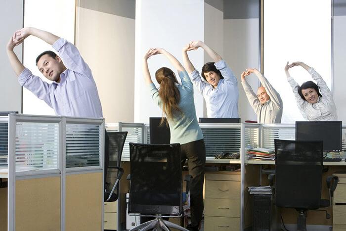 ginastica laboral exercicios